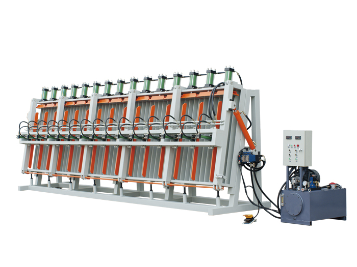 Single side hydraulic composer series-sectional type