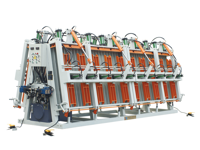 Two-segment Hydraulic Double-side Clamp Carrier